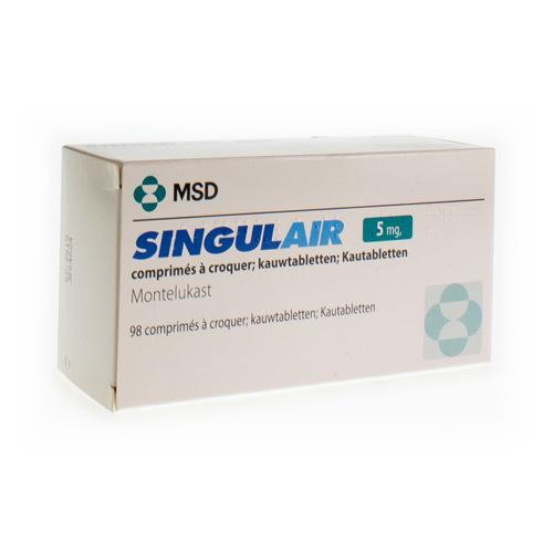 Singulair 5 Mg (98 Kauwtabletten)
