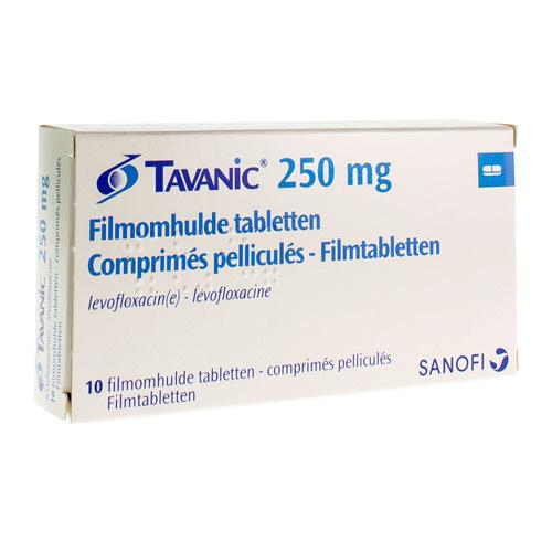 Tavanic 250 Mg (10 Comprimes)