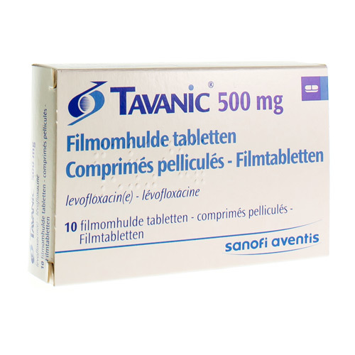 Tavanic 500 Mg (10 Tabletten)