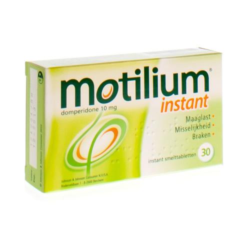 Motilium Instant 10 Mg (30 Smelttabletten)