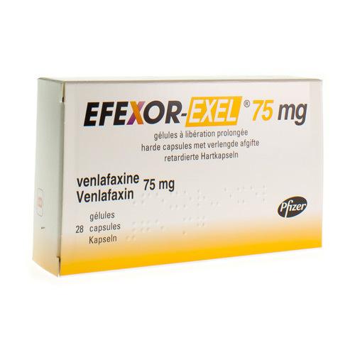 Efexor-Exel 75 Mg (28 Capsules)