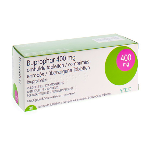 Buprophar 400 Mg  30 Comprimes