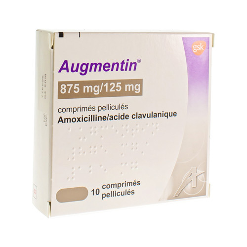 Augmentin 875 Mg / 125 Mg  10 Tabletten
