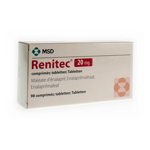 Renitec 20 Mg (98 Tabletten)
