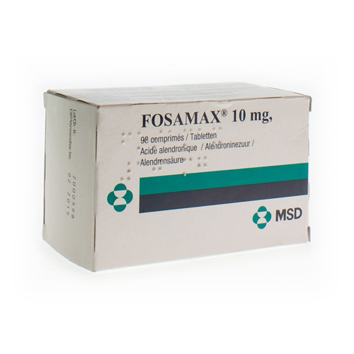 Fosamax 10 Mg (98 Tabletten)