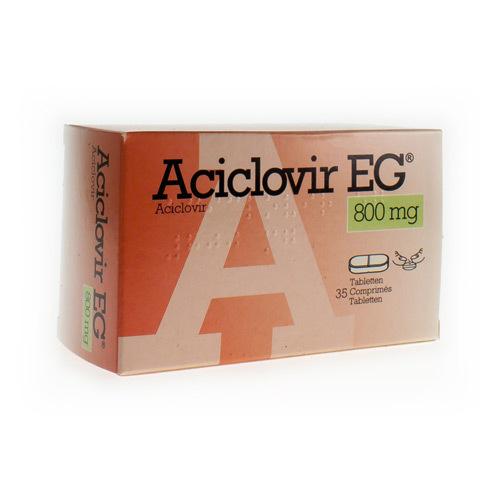 Aciclovir EG 800 Mg  35 Tabletten