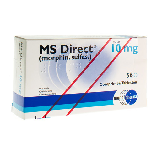 Ms Direct 10 Mg (56 Tabletten)