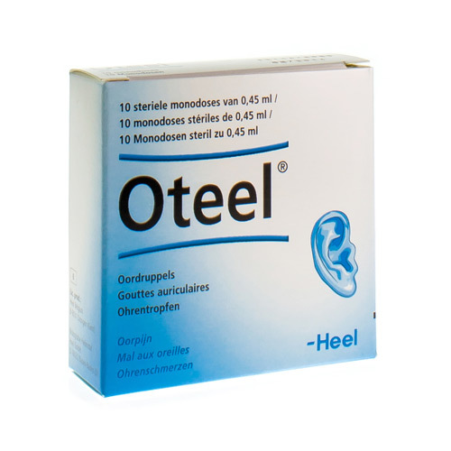 Oteel Gouttes Auriculaires 10Fiol