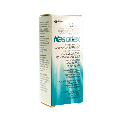 Nasonex Spray Nasal 0,5 Mg/G (140 Doses)
