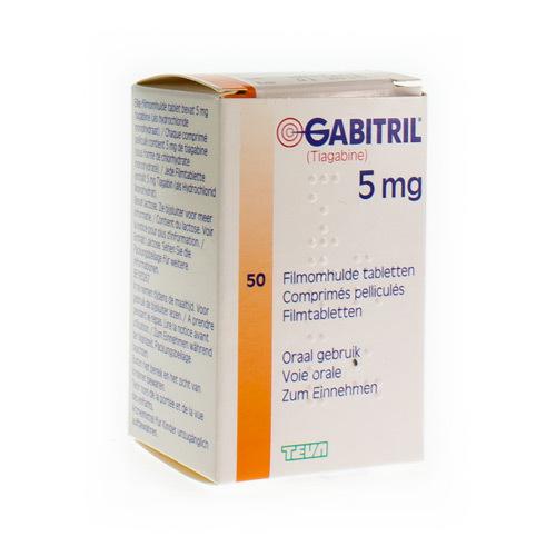 Gabitril 5 Mg (50 Comprimes)