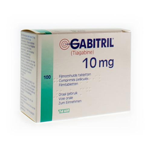 Gabitril 10 Mg (100 Tabletten)