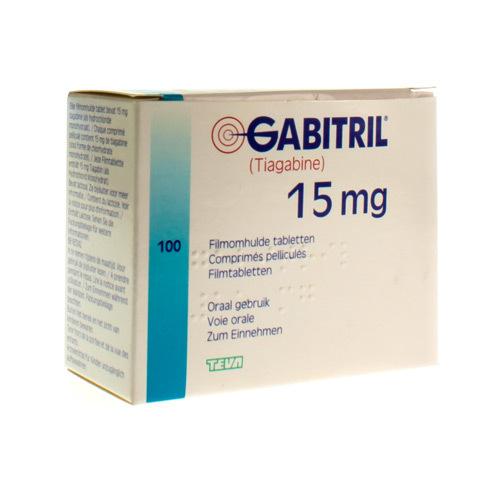 Gabitril 15 Mg (100 Comprimes)