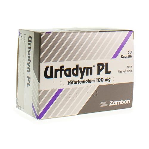 Urfadyn Pl 100 Mg (50 Capsules)
