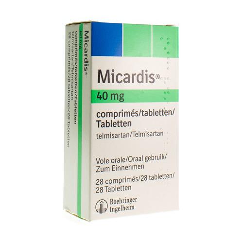 Micardis 40 Mg (28 Comptimes)