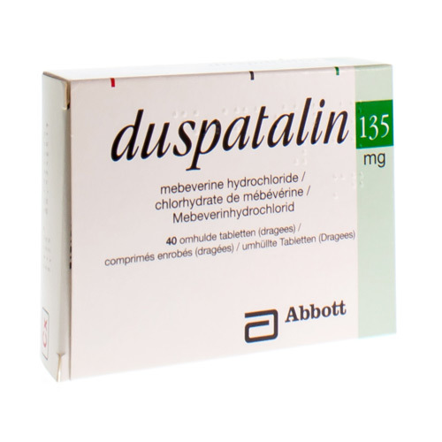 Duspatalin 135 mg (40 tabletten)