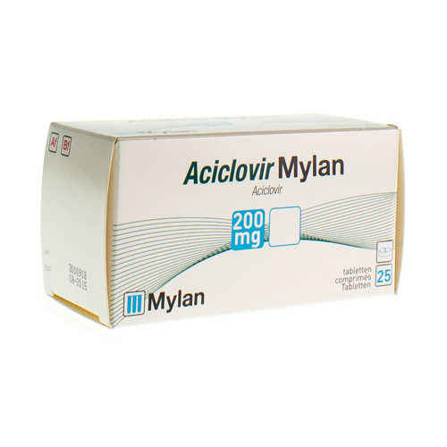 Aciclovir Mylan 200 Mg  25 Tabletten