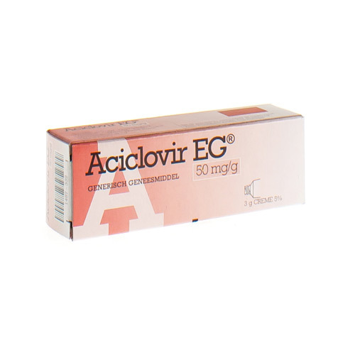 Aciclovir EG Creme 3 Gr