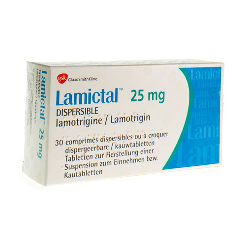 Lamictal 25 Mg (30 Kauwtabletten)