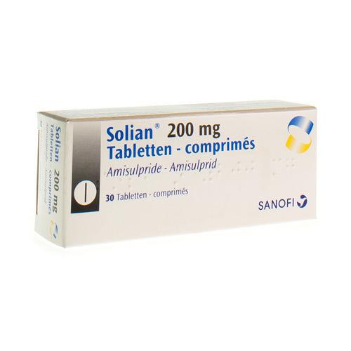 Solian 200 Mg (30 Comprimes)