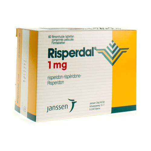 Risperdal 1 Mg (60 Comprimes)