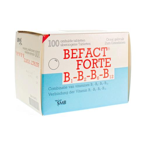 Befact Forte 250 Mg / 250 Mg / 10 Mg / 0,02 Mg  100 Tabletten