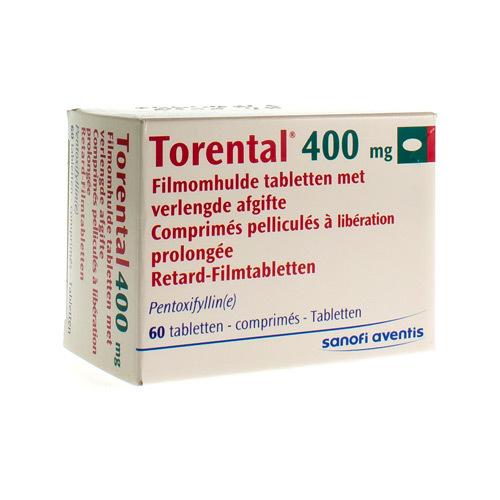 Torental 400 Mg (60 Comprimes)