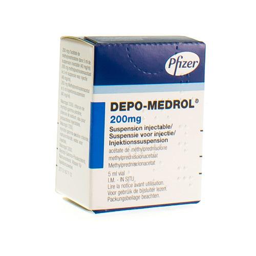 Depo-Medrol 200 Mg/5 Ml  1 Vial