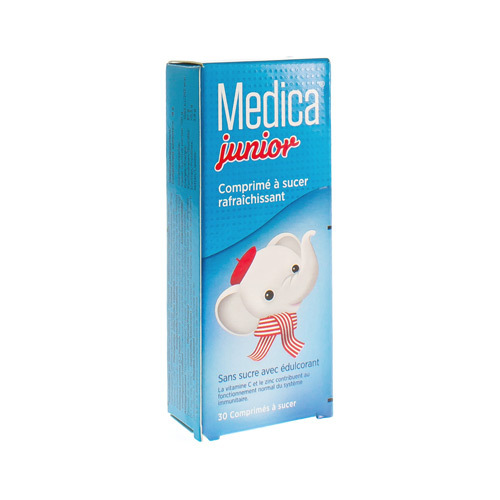 Medica Junior (30 Comprimes a Sucer)