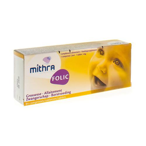 Mithra Folic 400 Mcg 84 Comp