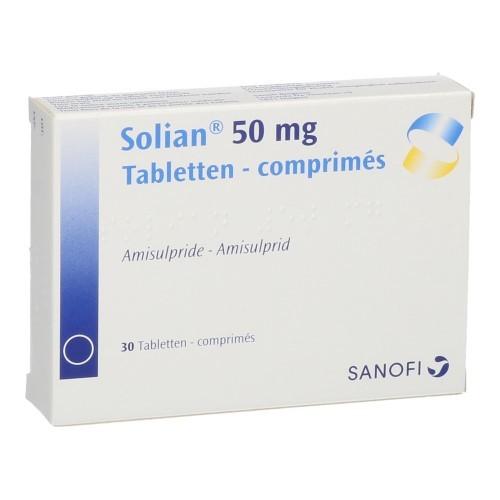 Solian 50 Mg (30 Comprimes)