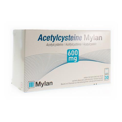 Acetylcysteine Mylan 600 Mg  30 Sachets