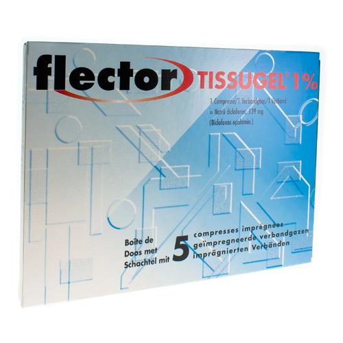 Flector Tissugel 1% (5 Compresses)