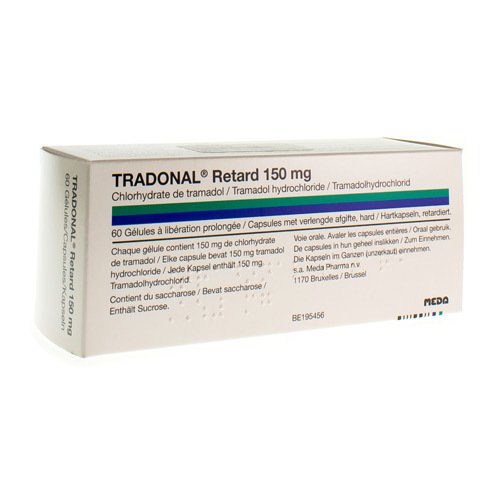 Tradonal Retard 150 Mg (60 Capsules)
