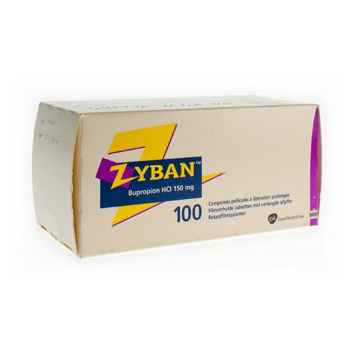 Zyban 150 Mg (100 Tabletten)