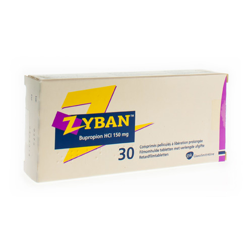 Zyban 150 Mg (30 Tabletten)