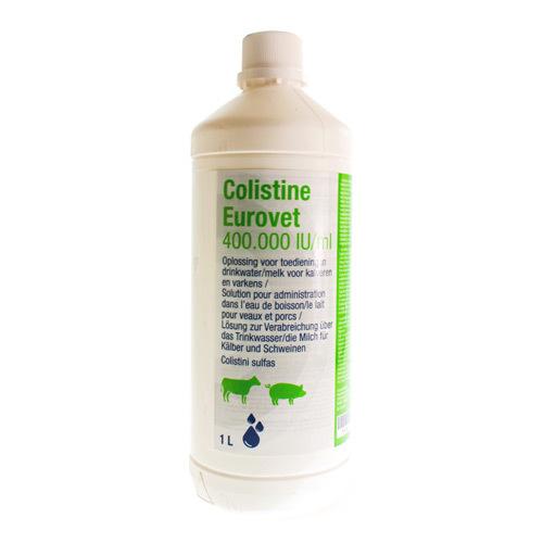 Colistine Veterinair 400.000 I.U./Ml  1 Liter