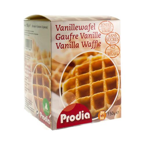 Prodia Gaufrettes Vanille Soft 150G