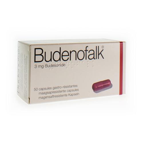 Budenofalk Caps 50 X 3 Mg