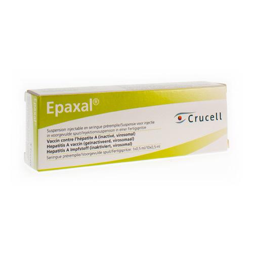 Epaxal Ser 1 X 0,5 Ml