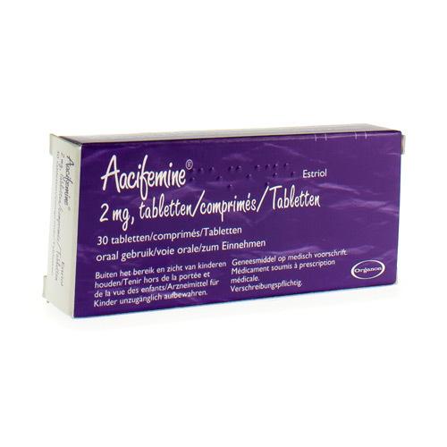 Aacifemine 2 Mg  30 Comprimes