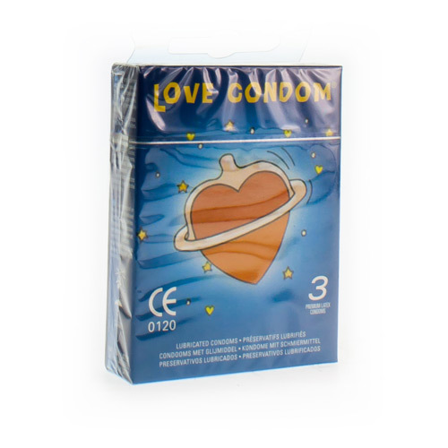 Love Condom Sensitive (3 Condooms)