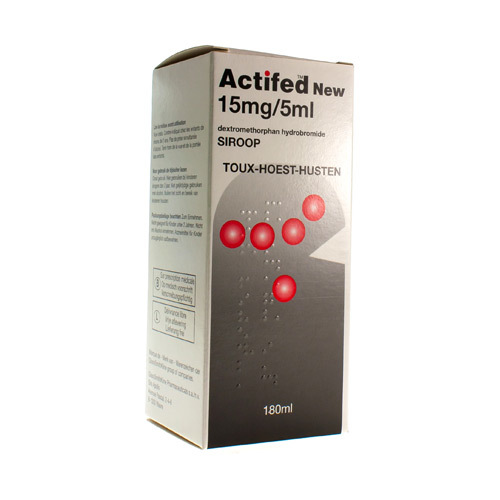 Actifed New 15 Mg/5 Ml  180 Ml