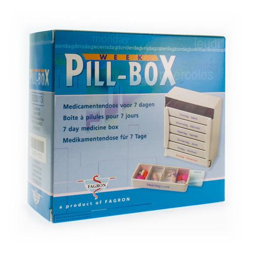 Pill Box Week Pillendoos