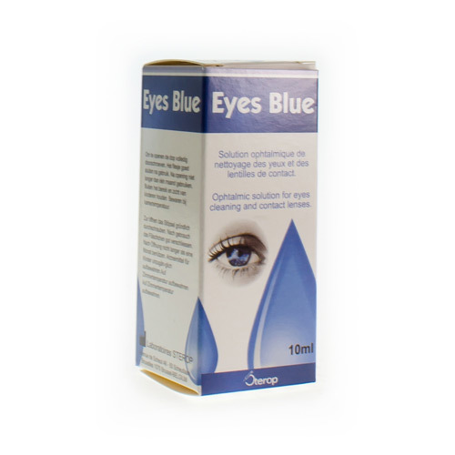 Eyes Blue Solution 10Ml