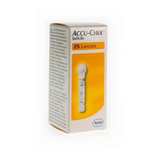 Accu-Chek Softclick  25 Lancettes
