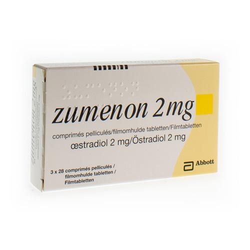 Zumenon 2 Mg (3 X 28 Comprimes)