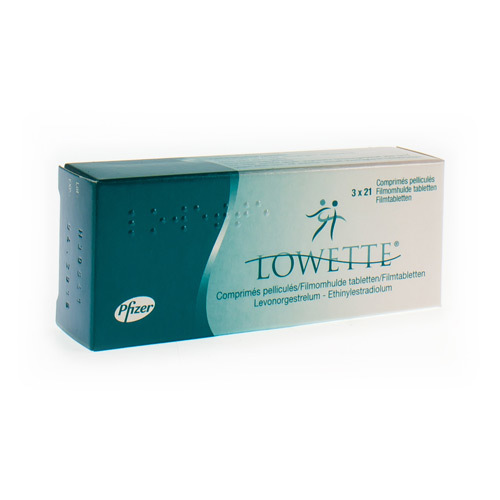 Lowette 0,100 Mg / 0,020 Mg (3 X 21 Tabletten)