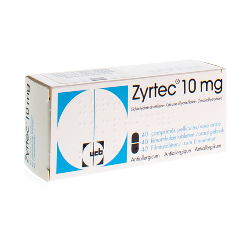 Zyrtec 10 Mg (40 Tabletten)