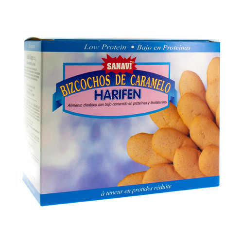 Sanavi Biscuits Caramel 125G