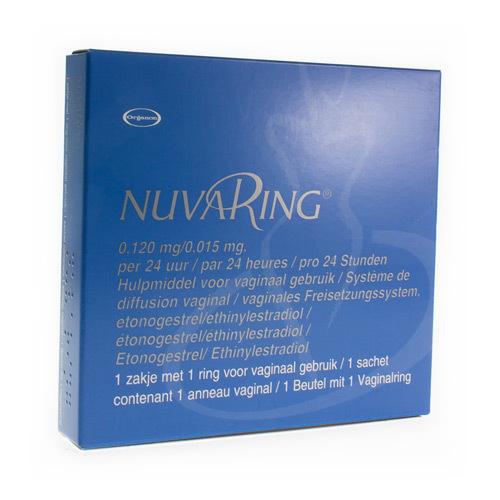 Nuvaring 0,120 Mg / 0,015 Mg (1 Ring)